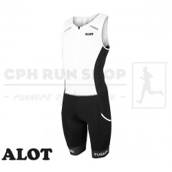Fusion Multisport Suit FZ Unisex, white/black - ALOT