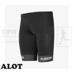 Fusion PWR TRI Tights Pocket Unisex, black - ALOT