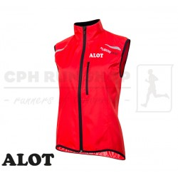 Fusion S100 Run Jacket Women, red - ALOT