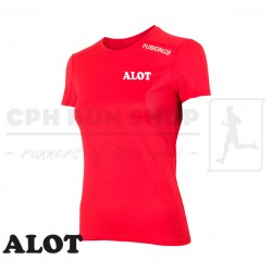 Fusion C3 T-shirt Women, red - ALOT