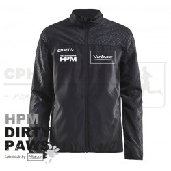Craft Rush Wind Jacket, Men - HPM Dirty Paws