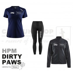 Pakke 1 Jakke-Tee-Tight, Women - HPM Dirty Paws