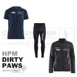 Pakke 1 Jakke-Tee-Tight, Women - HPM Dirty Paws
