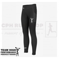 Fusion Hot Long Tights Women, black - High Performance