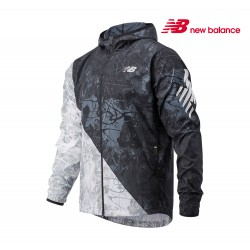 New Balance Printed Velocity Jacket Men, bm blk multi