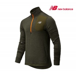 New Balance Impact Run Grid Back ½ Zip Men