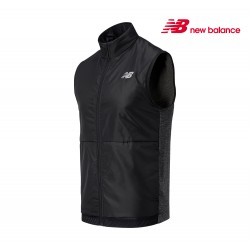 New Balance Impact Run Grid Back Vest Men, heathChar