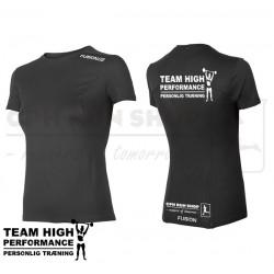 Fusion C3+ Tee Women, black - High Performance