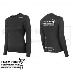 Fusion C3 LS Tee Women, black - High Performance