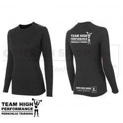 Fusion C3 Merino LS Women, black - High Performance