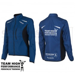 Fusion S1 Run Jacket Women, night blue - High Performance