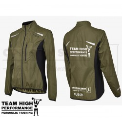 Fusion S1 Run Jacket Women, green - High Performance