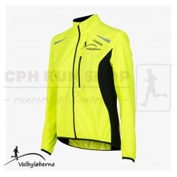 Fusion S1 Run Jacket Women, yellow - Valbyløberne