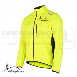 Fusion S1 Run Jacket Men, yellow - Valbyløberne