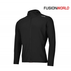 Fusion C3+ Recharge Hoodie Men, black