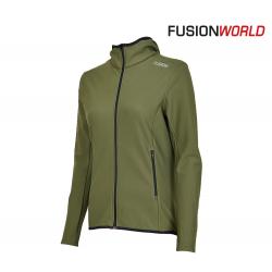 Fusion C3+ Recharge Hoodie Women, green