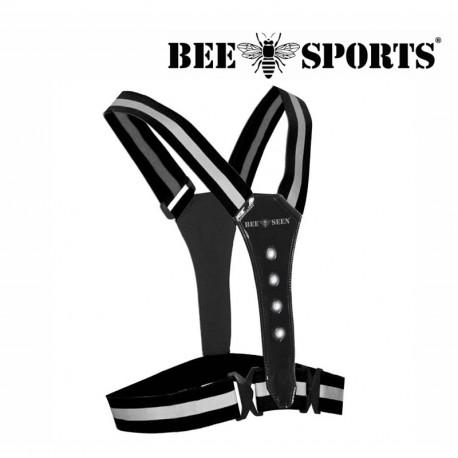 Bee Sport Led Harness USB, Ligthgreen
