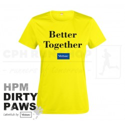 New Wave Active Tee, Women - HPM Dirty Paws