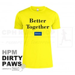 New Wave Active Tee, Men - HPM Dirty Paws