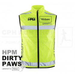 Craft Visibility Vest, Unisex - HPM Dirty Paws