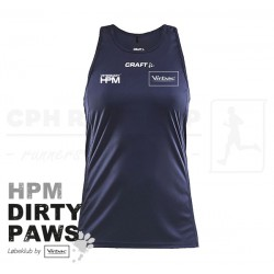 Craft Rush Singlet, Women - HPM Dirty Paws