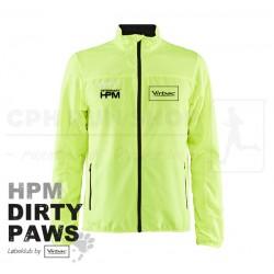 Craft Rush Wind Jacket, Men - HPM Dirty Paws - Neon Yellow