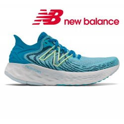 New Balance 1080v11 Women, virtual sky bleached lime glow