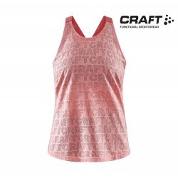 Craft Core Charge Logo Singlet Women, coral
