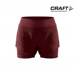 Craft ADV Essence 2-in-1 Shorts Woman, truffle