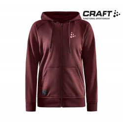 Craft Core Zip Hood Woman, truffle
