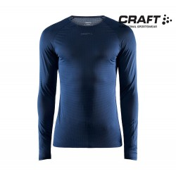 Craft Pro Dry Nanoweight LS T-shirt Men, blaze