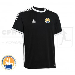 Select Monaco Player Shirt, black - Cph Beach Soccer Club