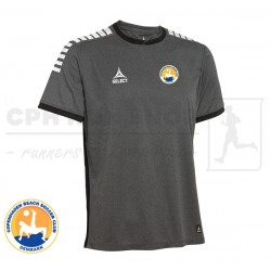 Select Monaco Player Shirt, grey - Cph Beach Soccer Club