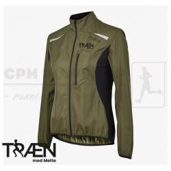 Fusion S1 Run Jacket Women, green - Træn med Mette