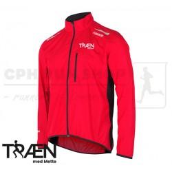 Fusion S1 Run Jacket Men, red - Træn med Mette