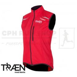 Fusion S100 Run Vest Women, red - Træn med Mette