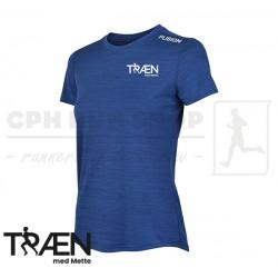 Fusion C3 Tshirt Women, night blue - Træn med Mette