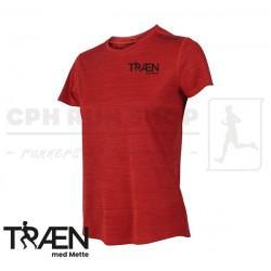 Fusion C3 Tshirt Women, red - Træn med Mette