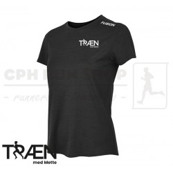 Fusion C3 Tshirt Women, black - Træn med Mette