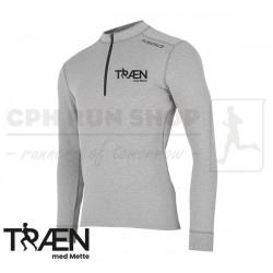 Fusion C3 Zip Neck Men, grey - Træn med Mette