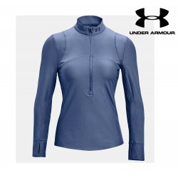 Under Armour Qualifier Half Zip Women, mineral blue