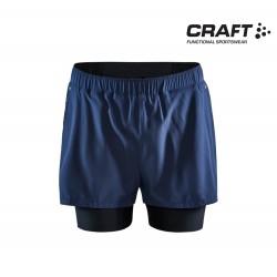 Craft ADV Essence 2-in-1 Stretch Shorts Men, blaze
