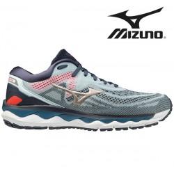 Mizuno Wave Sky 4 Men WanB/PGold/IndiaInk - løbesko
