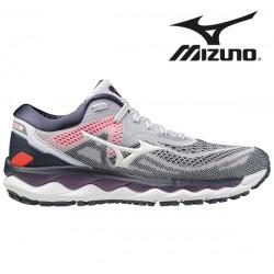 Mizuno Wave Sky 4 Women LilacHint/PGold/I.Ink - løbesko