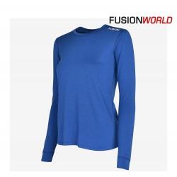 Fusion C3 Merino LS Women, blå