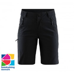 Casual Sports Shorts W, sort - Bueskydning Danmark