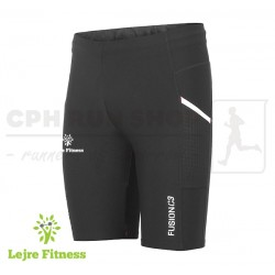 Fusion C3+ Short Training Tights Men, black - Lejre Fitness