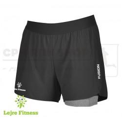Fusion C3+ Run Shorts Men, black - Lejre Fitness