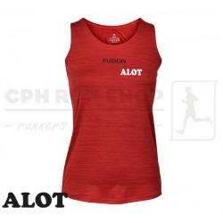 Fusion C3 Singlet Women, red - ALOT