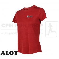 Fusion C3 T-shirt Women, red - ALOT